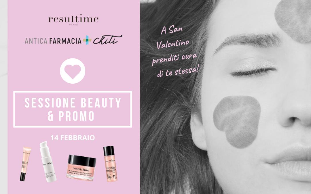Sessione Beauty e Promo Resultime di San Valentino