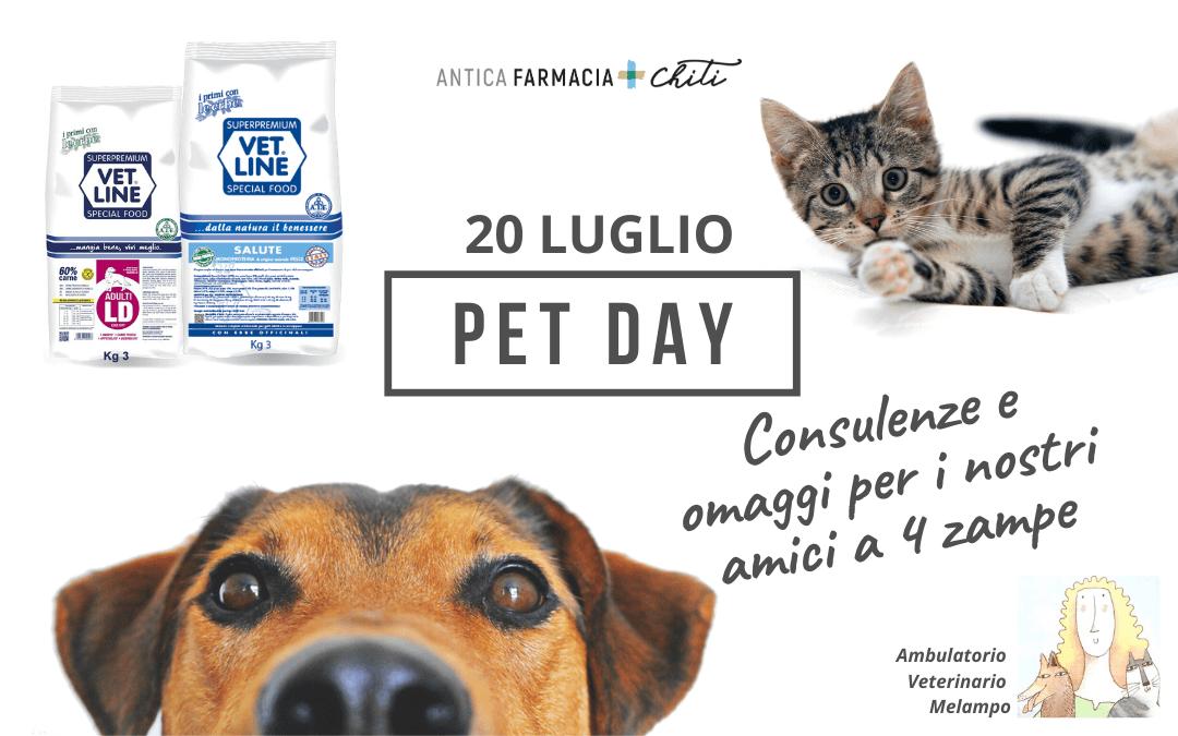 Pet Day – 20 luglio 2020
