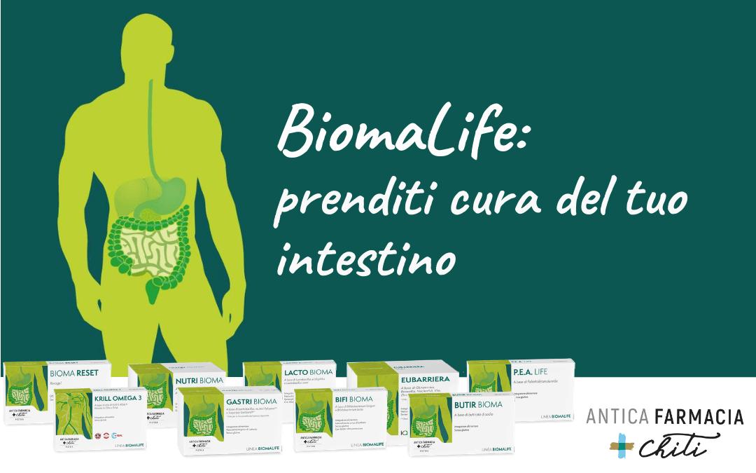 Gli integratori BiomaLife: prenditi cura del tuo intestino