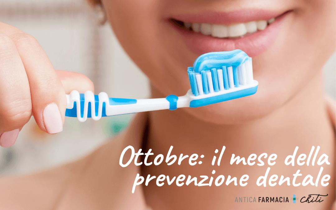 Ottobre: il mese della prevenzione dentale