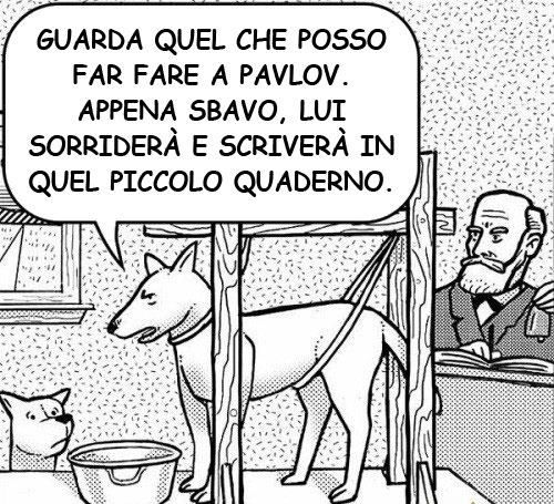 vignetta cane pavlov
