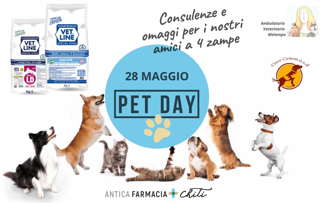 Pet Day – 28 maggio 2021 – Pistoia
