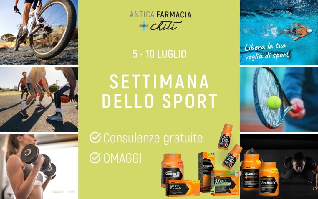 Settimana dello sport / Luglio 2021 / Pistoia