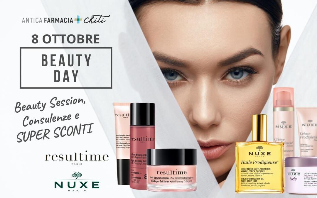 Beauty Day Resultime e Nuxe – 8 ottobre – Pistoia